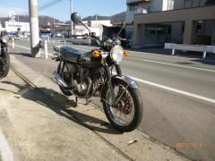 CB550フォア/ホンダ 550cc 山形県 SBS レーシングキャンパス