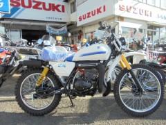 TF125/スズキ 125cc 長野県 トネガワオート(株) レンタルバイク有ります